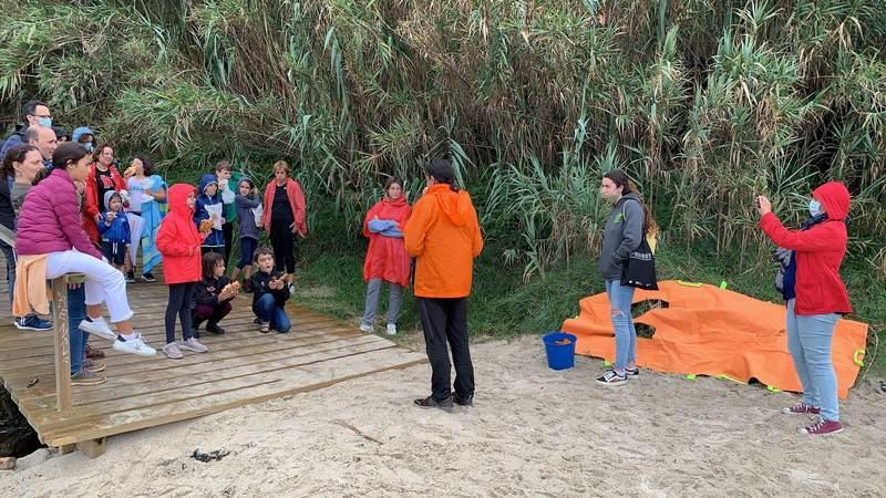 Máis de 30 voluntarios participaron na última xornada de recollida de residuos en praias de Nigrán