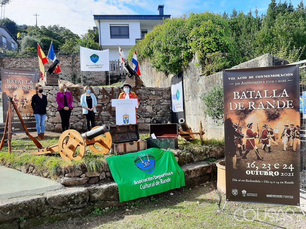 Redondela recuerda la batalla de Rande en el Museo Meirande