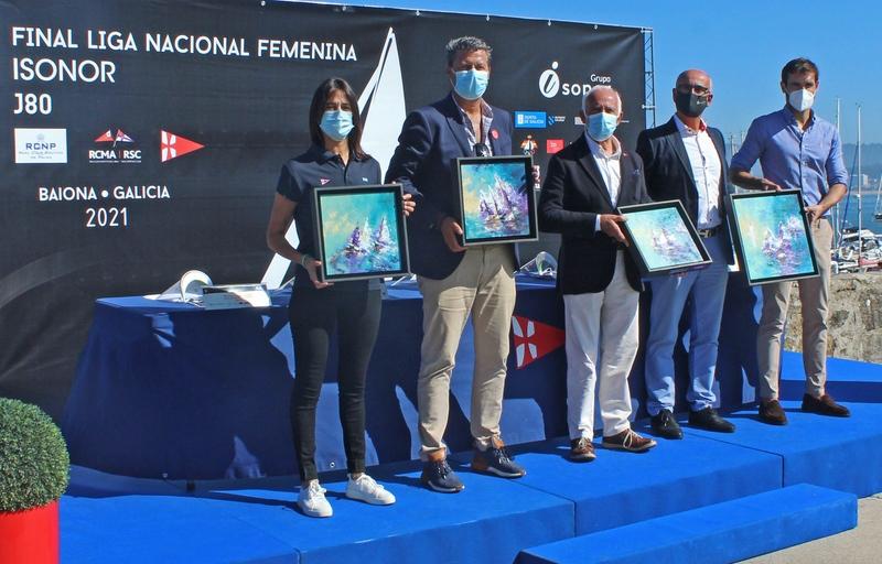 A liga Nacional Feminina de Vela 2021 decídese esta fin de semana en Galicia