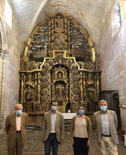 Visitas guiadas e un ciclo de coferencias para poñer en valor o retablo que a igrexa de San Domingo ten dedicado á Batalla de Lepanto
